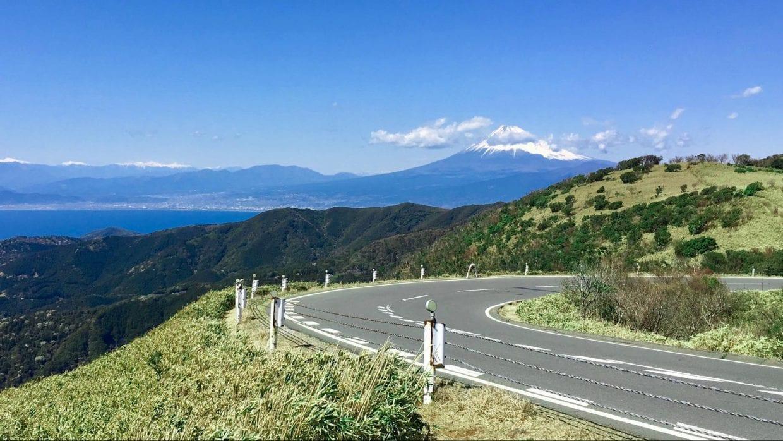 西伊豆スカイラインから望む富士山