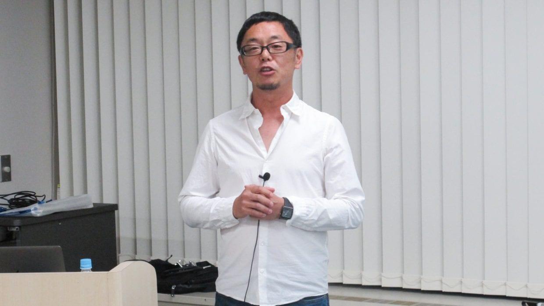 前職の株式会社オプト(現株式会社オプトホールディング)と現株式会社イルカと、2度の起業経験を持つ小林氏。写真は今年5月に同氏が登壇したセミナーにて。