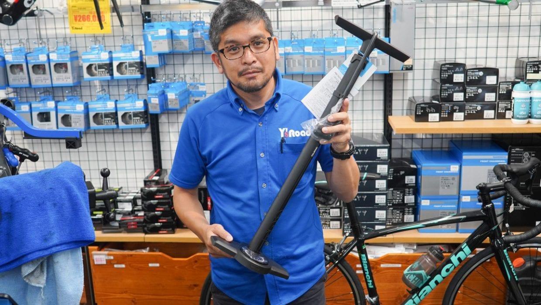 空気を入れるためだけに自転車ショップに行くのは面倒。3万円予算があるならポンプは所有すべきアイテム。