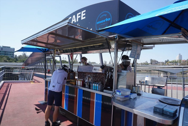 Café on the Goodwill Bridge