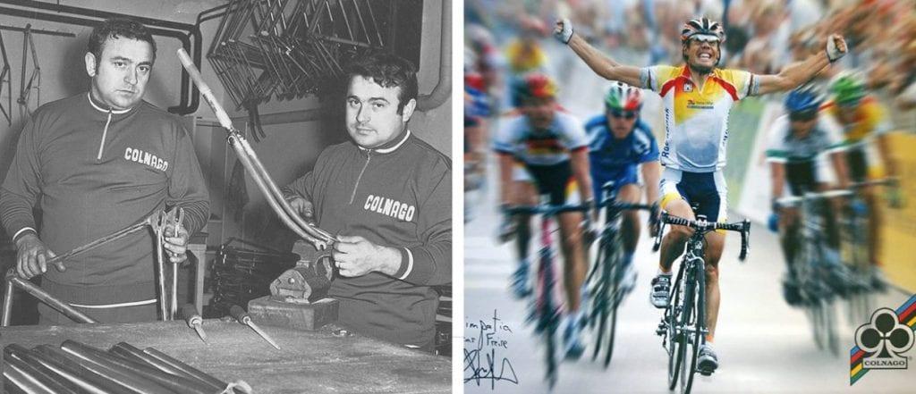 (左)創設当初の様子 (右)オスカル・フレイレが世界選手権で優勝。数々のレースで栄光を手にしてきた。
