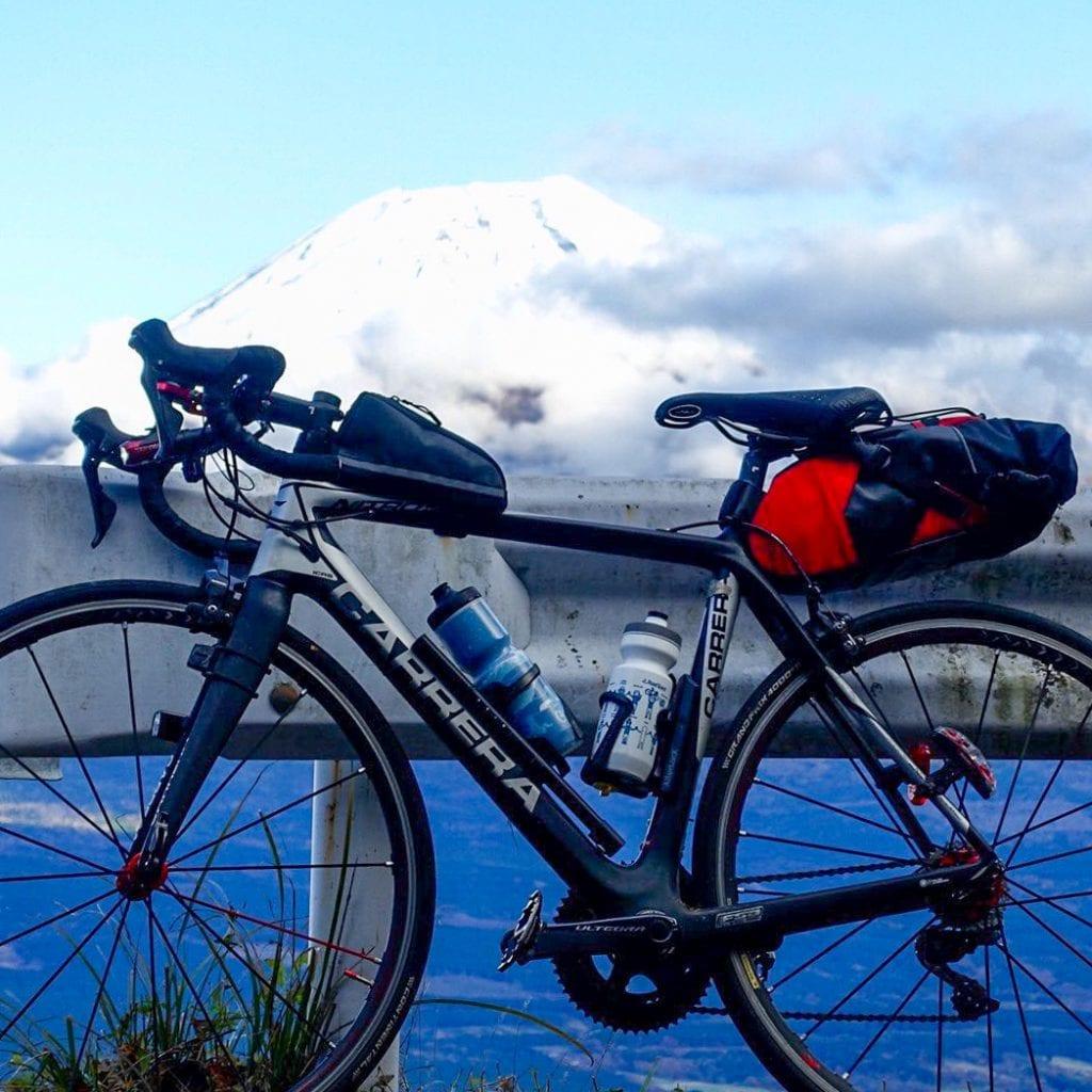 自転車写真でボトルの占める面積は意外に大きい