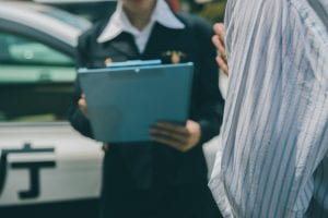 警察官の作成した事故調書が無いと保険は適用されない