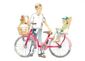 自宅近辺であっても、毎日の買い物、子どもの送迎…、日常での利用頻度は多い。