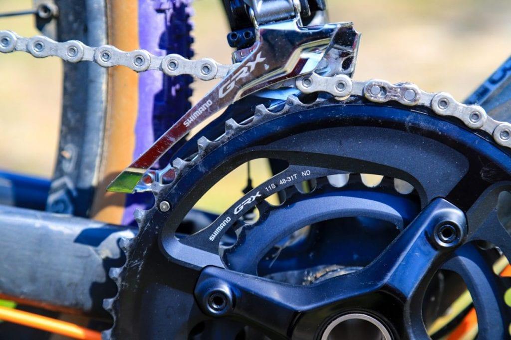 ギア比に大きく関わってくるクランクセット。その自転車の性質を決めると言っても過言ではありません。