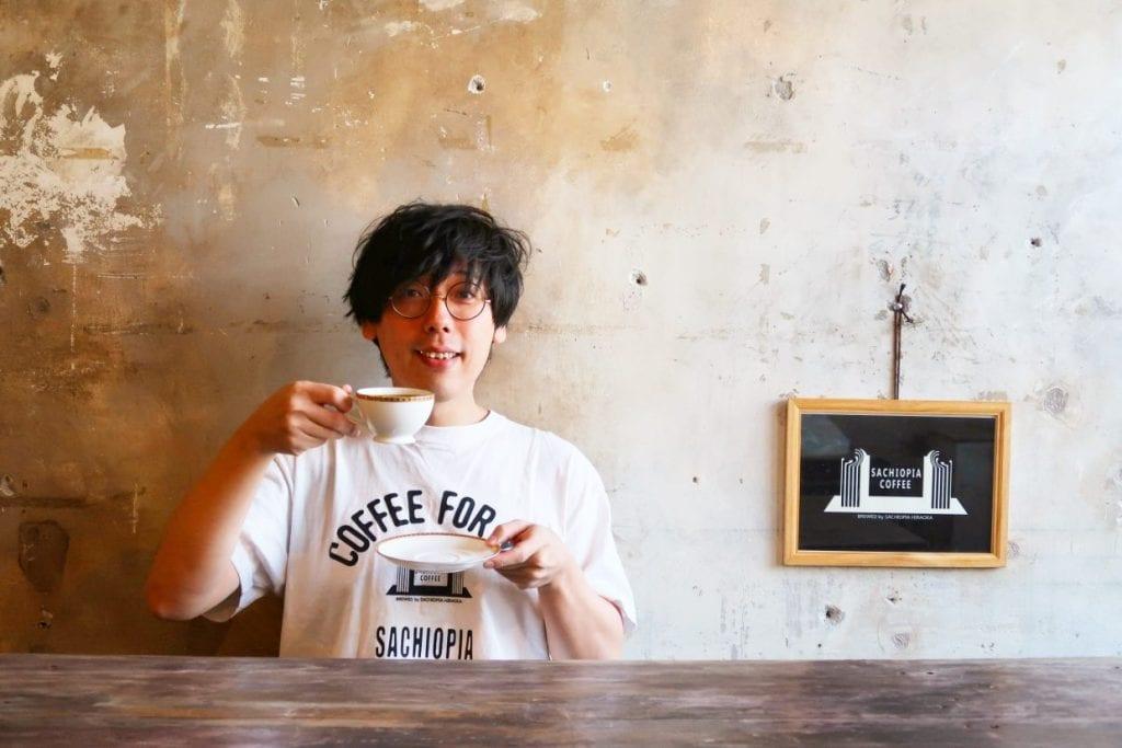 """""""幻の月一カフェ""""として人気のサチオピアコーヒー・平岡佐智男さんによる""""トレックオリジナルブレンドコーヒー"""""""
