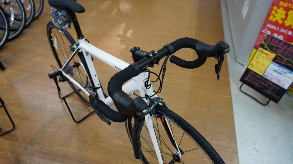 ロードバイクの特徴ドロップハンドル