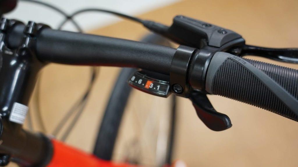 クロスバイクで主流のトリガーシフト