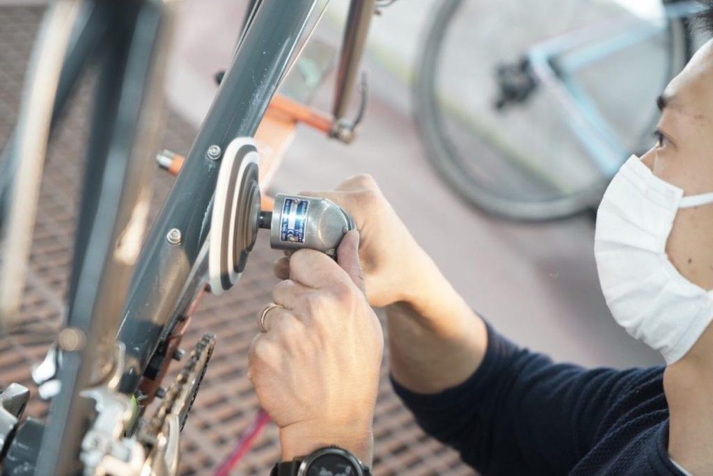 自転車の洗車専門店「ラバッジョ」