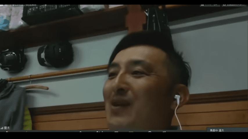 実況を担当した松本佑太氏