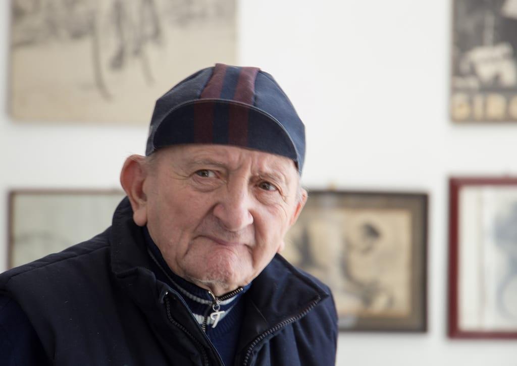 DRALIを手掛けるジュゼッペ・ドラーリさんは御年92歳の大ベテランの自転車職人