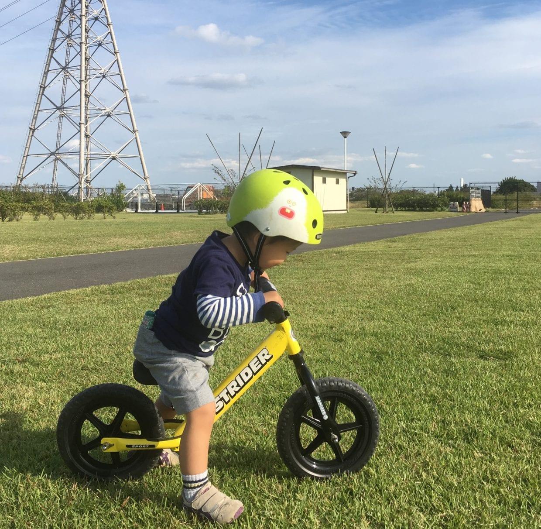 キックバイクデビューは3歳になる少し前