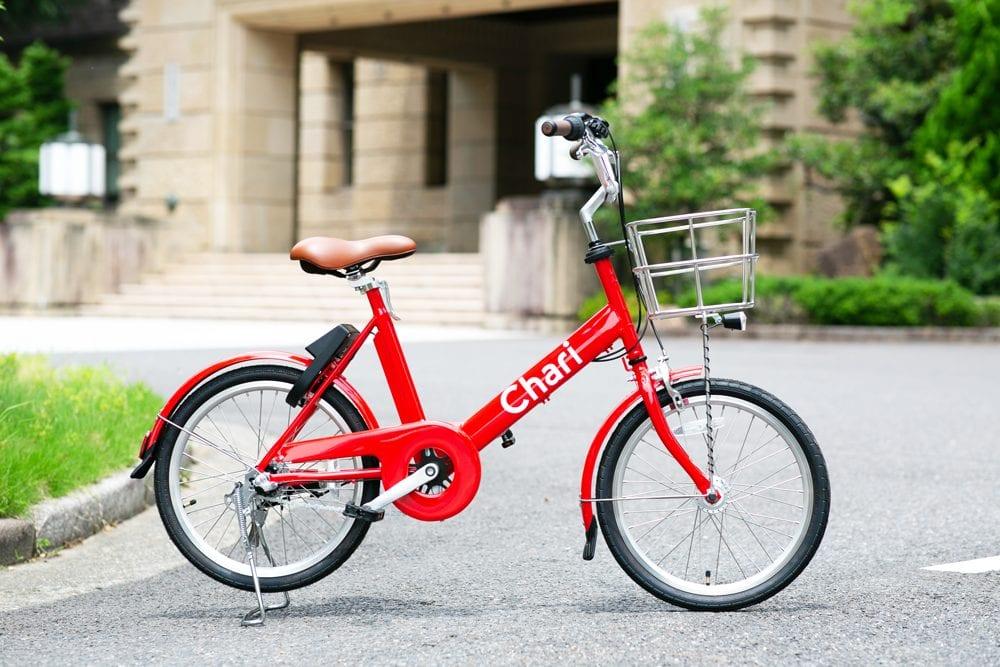 名古屋市内では最大規模となる、200台の自転車を配備