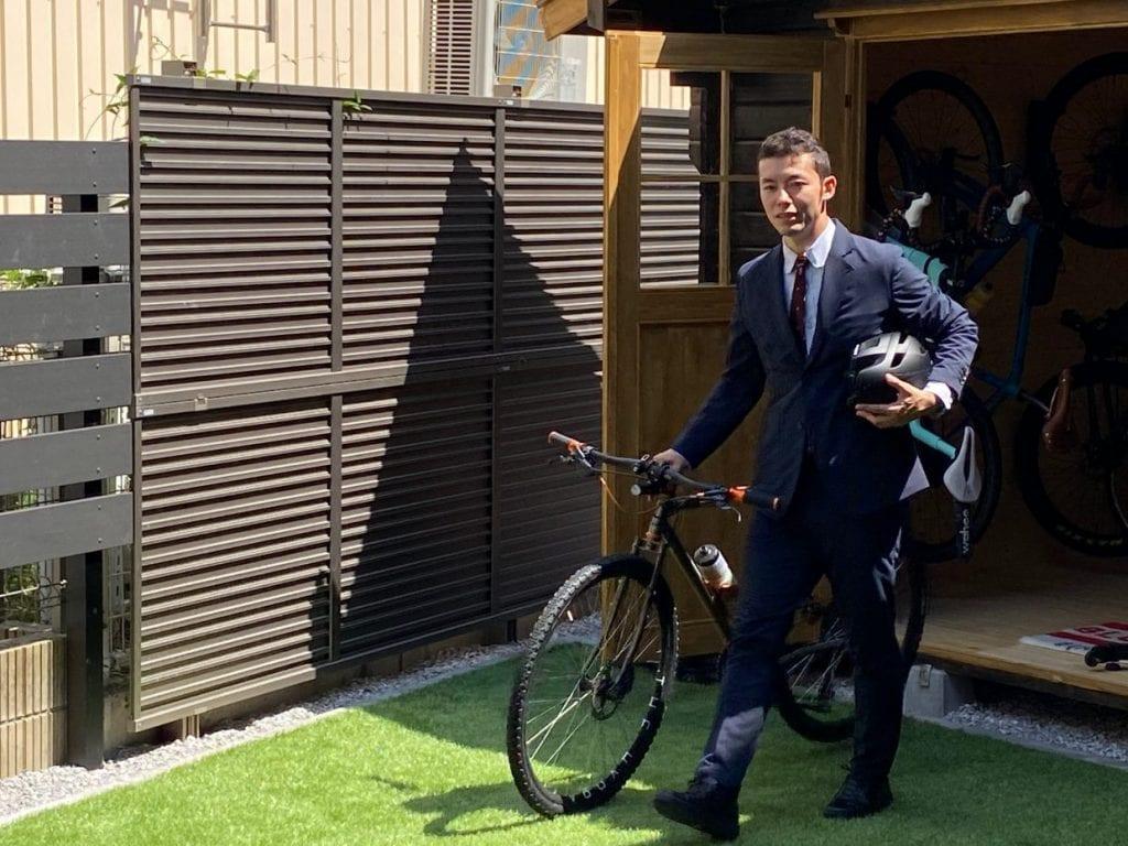 【ビジネス】スーツスタイルけんたさん