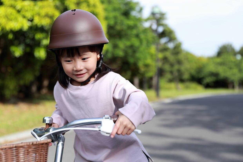 ストライダー用のヘルメットは自転車にも使える