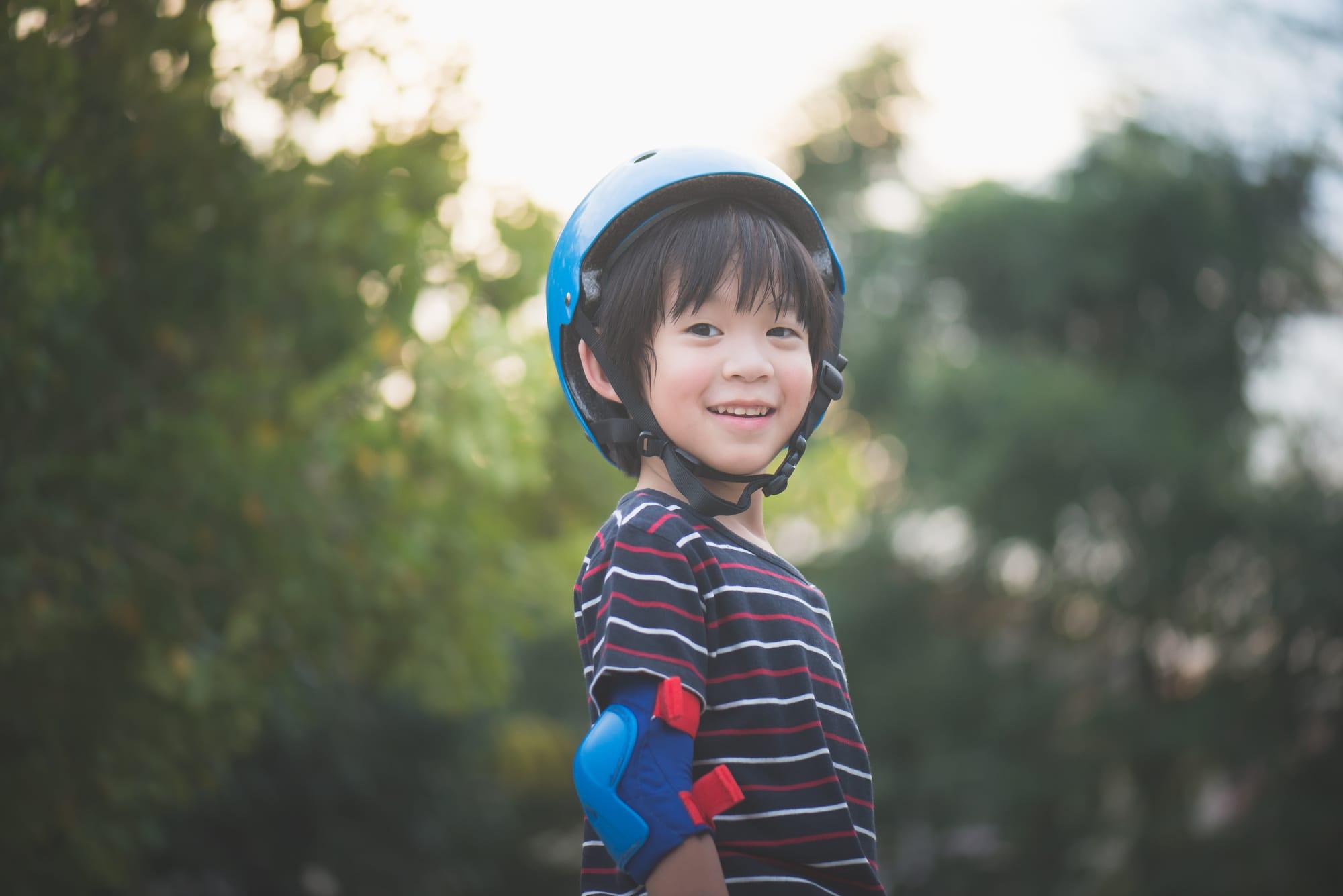 ストライダー用のヘルメットは用途・目的で選ぶことが大切