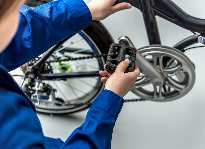 自転車はプロに点検整備してもらうと安心