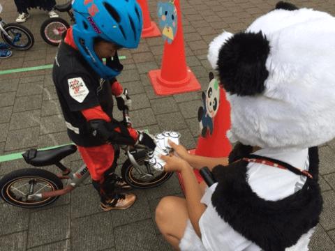 LAGP名物だった「パンダちゃん」