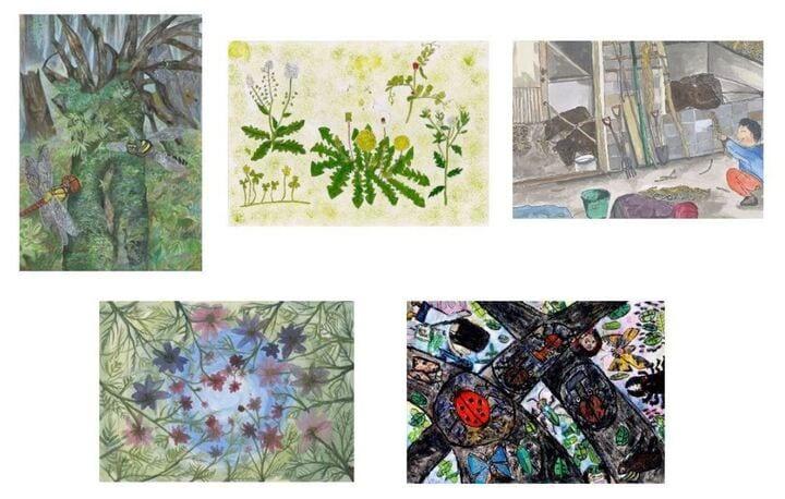 昨年の「第17回ブリヂストンこどもエコ絵画コンクール」ブリヂストン大賞受賞作品