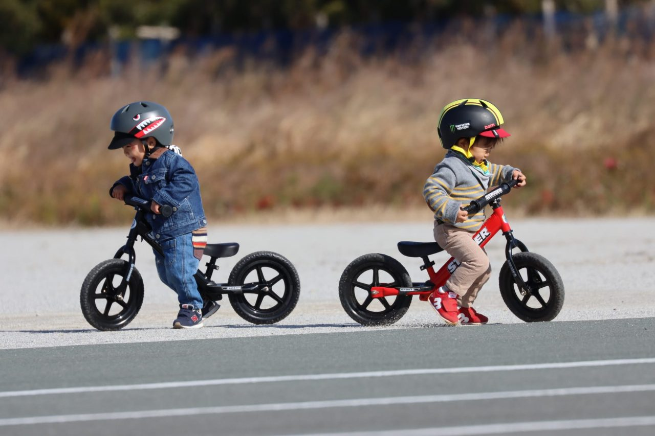 ストライダーは持っている子どもが多いので「一緒に遊ぼう」ができやすい