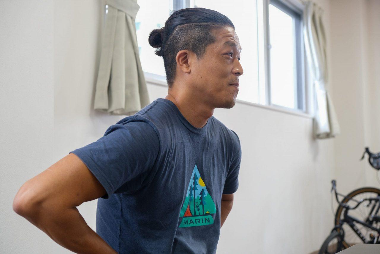 MARIN BIKES JAPAN 代表の岡山 文昭さん