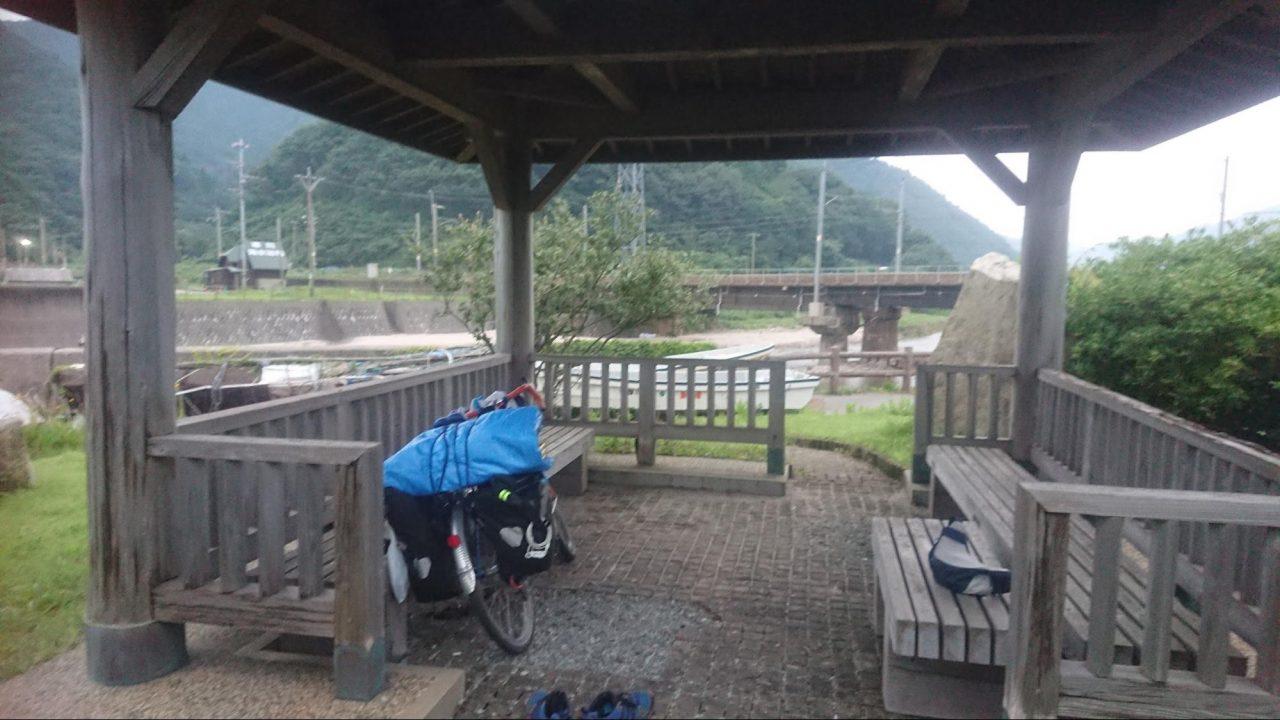 日本縦断中秋田県での野宿
