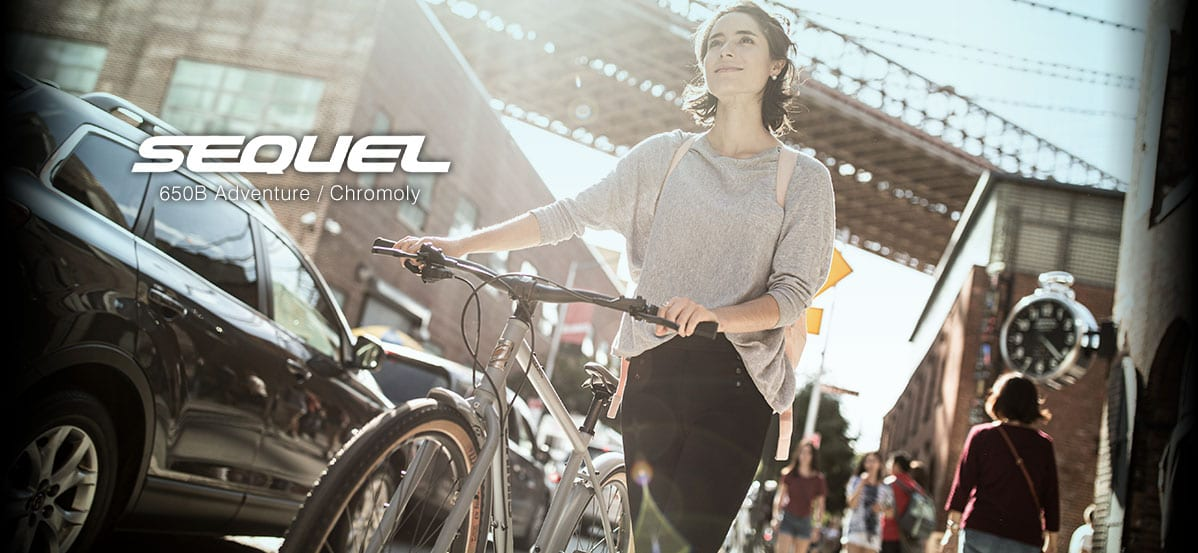 クロモリフレーム × 650Bホイールで展開されるSEQUELはJAMISらしいクロスバイク