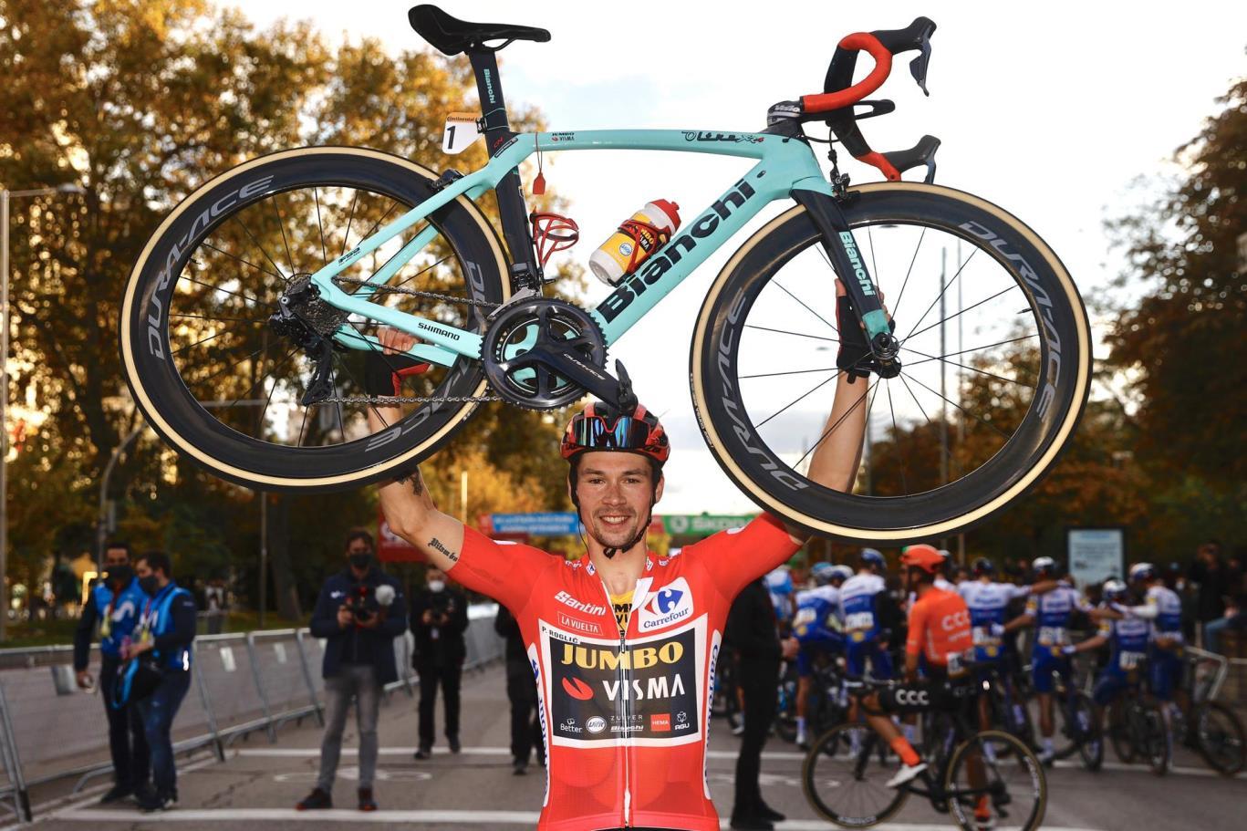 昨年の優勝に続き、プリモシュ・ログリッチ(チーム・ユンボ・ヴィズマ)がブエルタ・ア・エスパーニャ連覇を達成