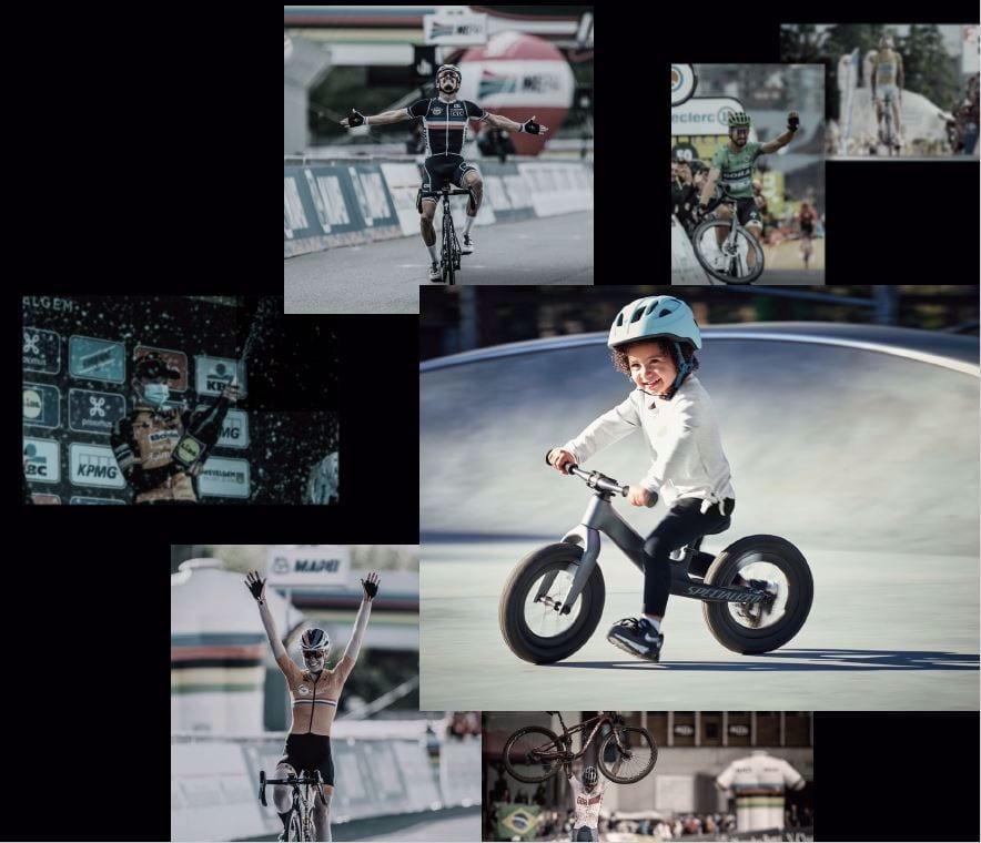 先輩ライダーが開発したちびっこライダーのためのバイク