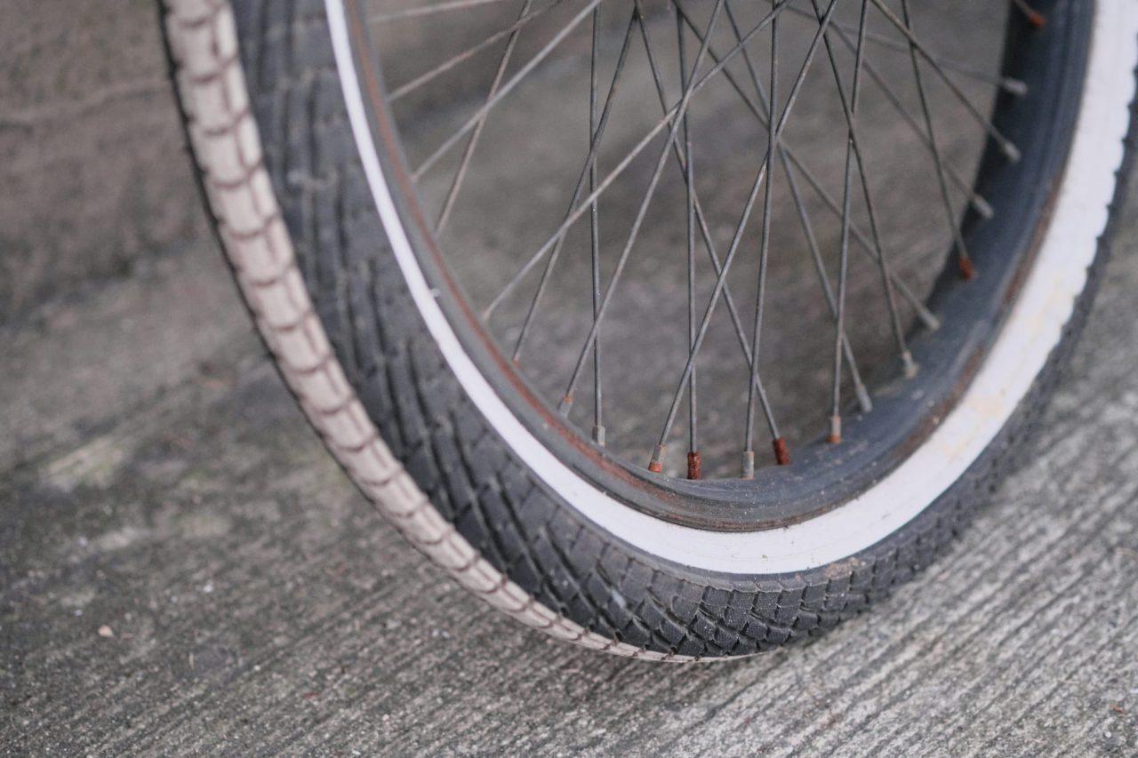 タイヤの溝がなくなってきたときが交換の目安