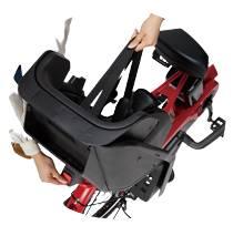 シートベルトは巻取り式