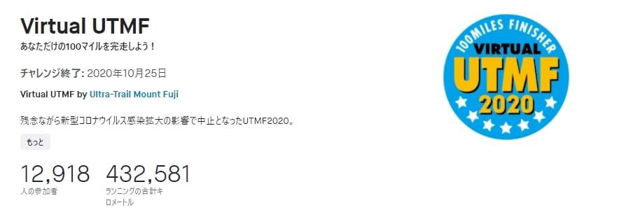Virtual UTMF