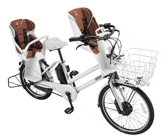 ビッケグリは幼児2人同乗基準適合車