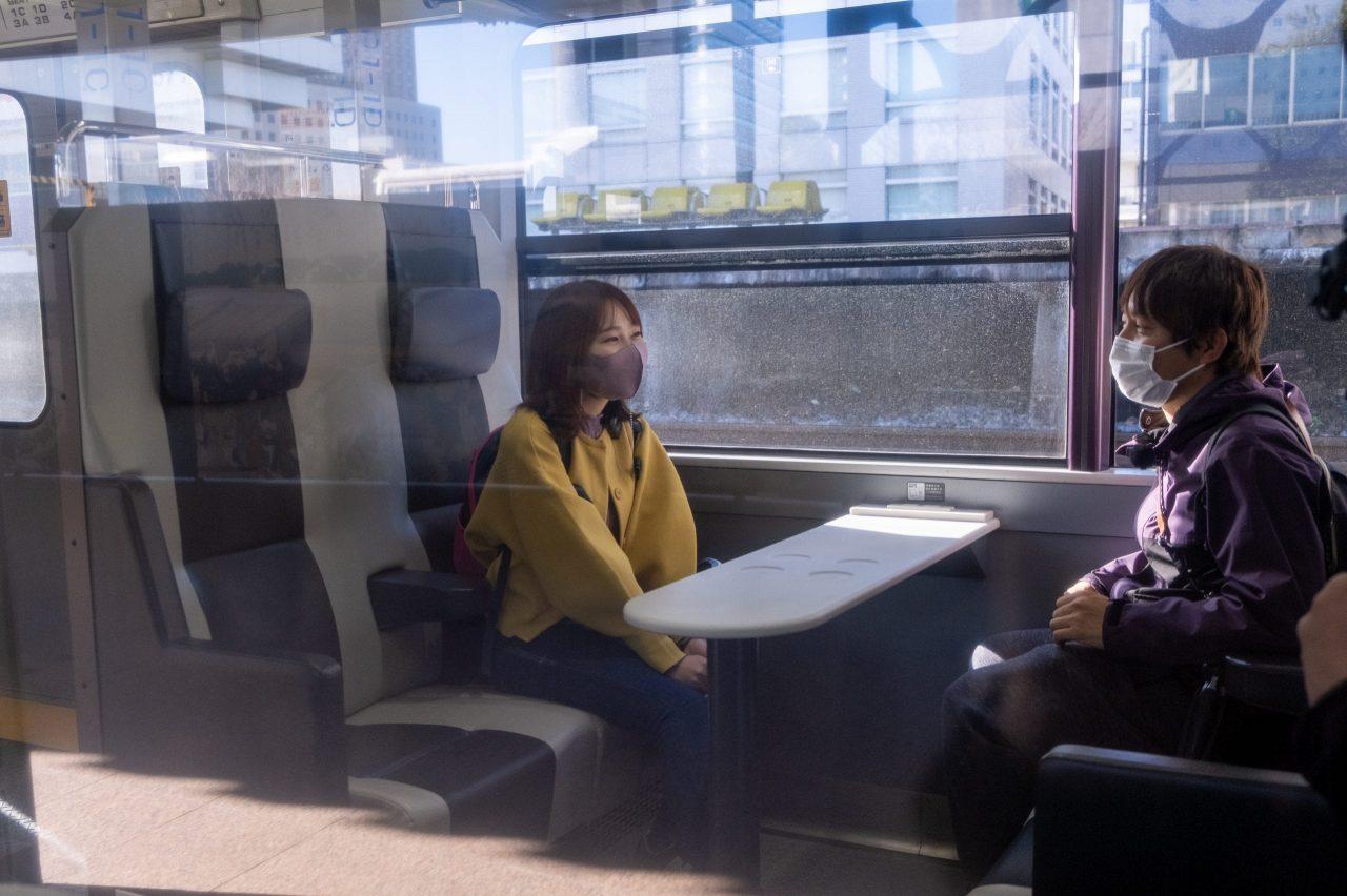 ゆったりとしたボックス席。このご時世、密を避けられるという意味でもGoodです。