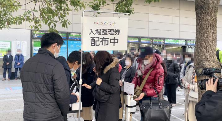 <東京都初出店 東京ソラマチ店開店時の様子>