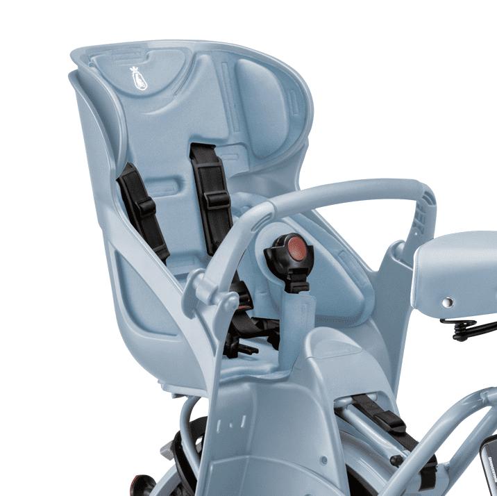 ビッケモブはリヤチャイルドシート標準装備