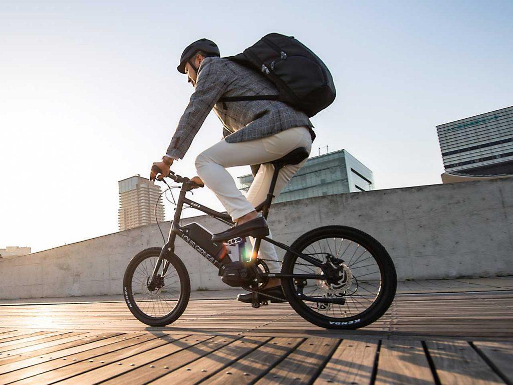 ルイガノ e-bike ミニベロ easel-e