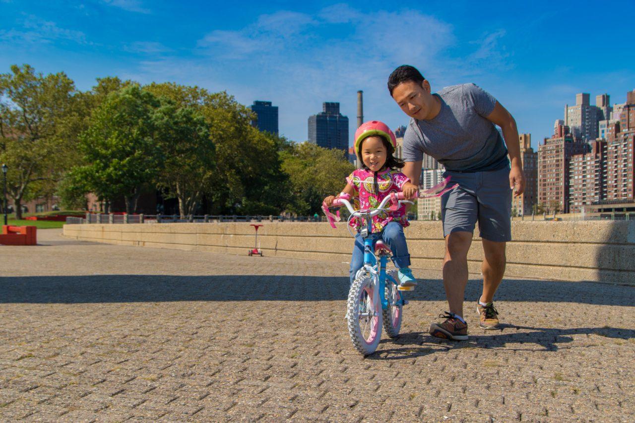 4歳で自転車デビューする子が多い