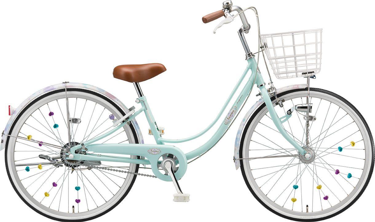 ブリヂストン ジュニア向け自転車『リコリーナ』はセミアップハンドル