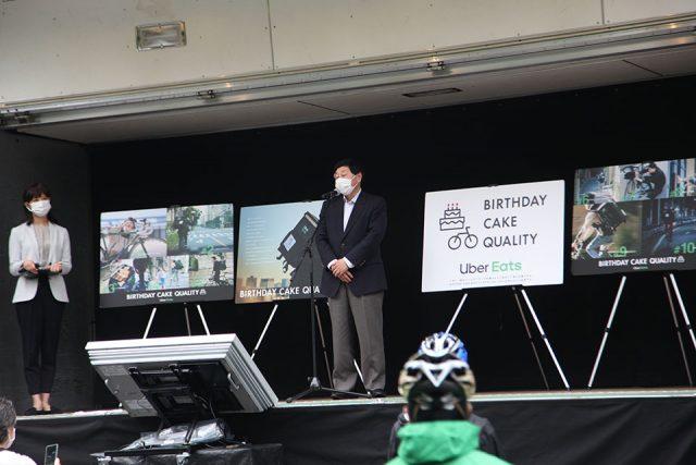 益法人日本サイクリング協会代表理事 長澤恵一