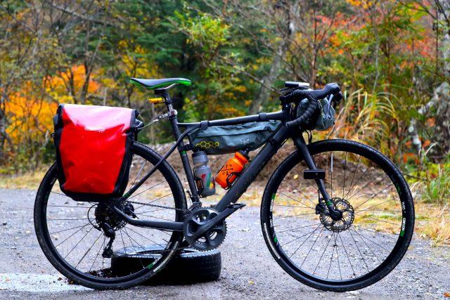 バイクパッキング ロードバイク