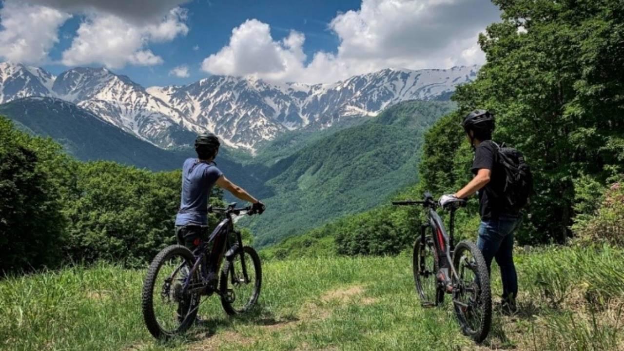 パナソニック サイクルテック 長野県の景観を電動アシスト自転車で満喫できる体験コンテンツを2021年7月より実施