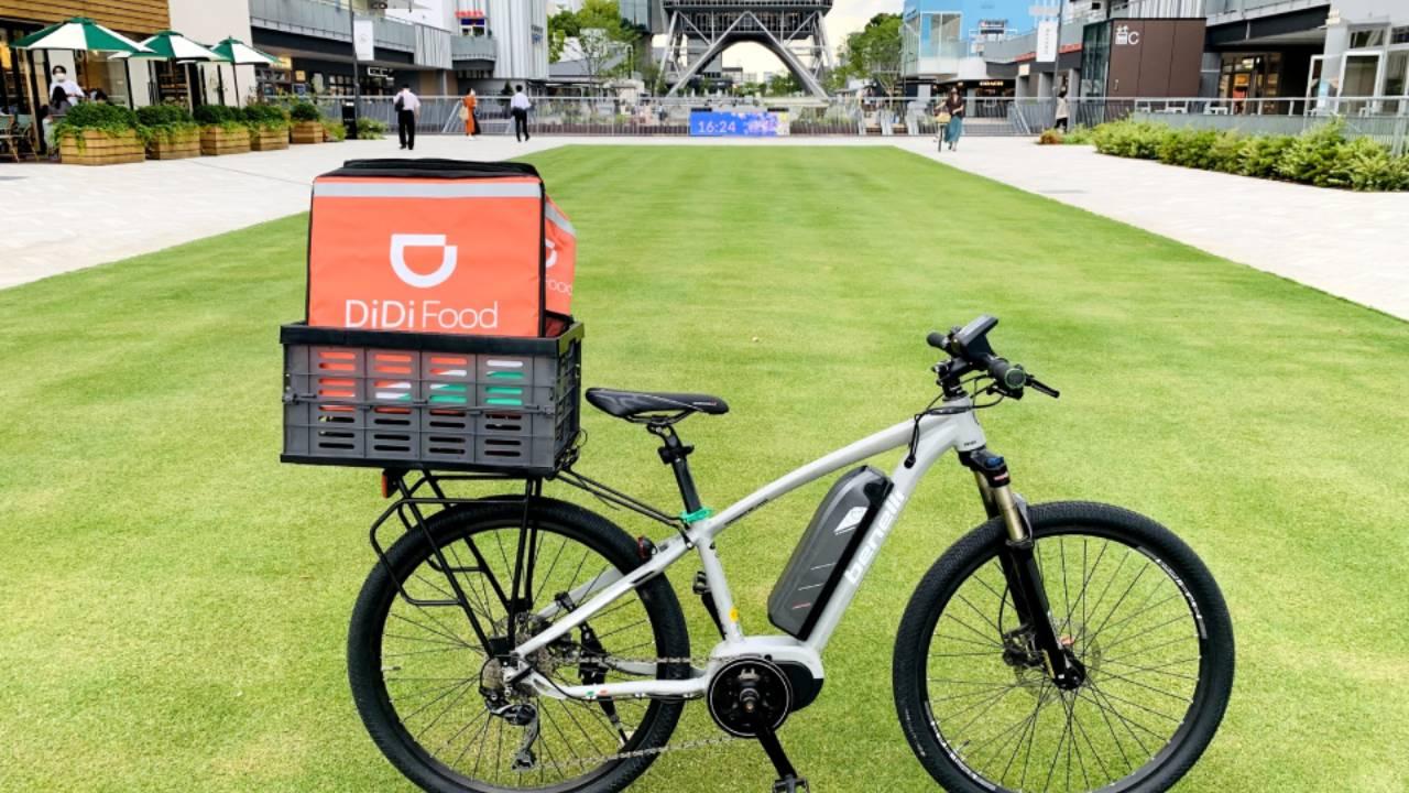 高級スポーツバイクレンタルの「CycleTrip BASE」が「DiDi Food」とのスペシャルコラボプランの提供を開始