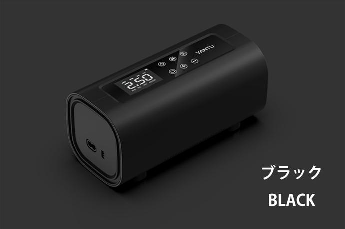 電動エアーコンプレッサー「A22」 ブラック