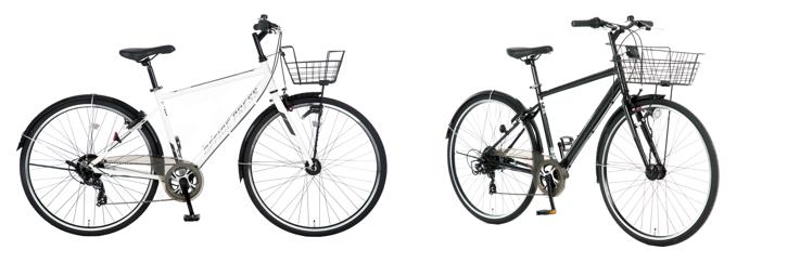 <対象商品例:あさひオリジナル通勤用自転車「オフィスプレストレッキング オートライト仕様」>