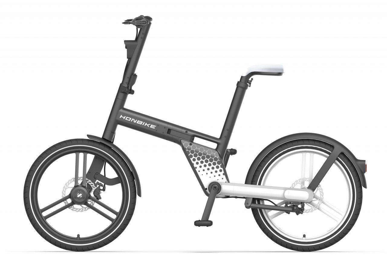 チェーンレス電動アシスト自転車「HONBIKE」