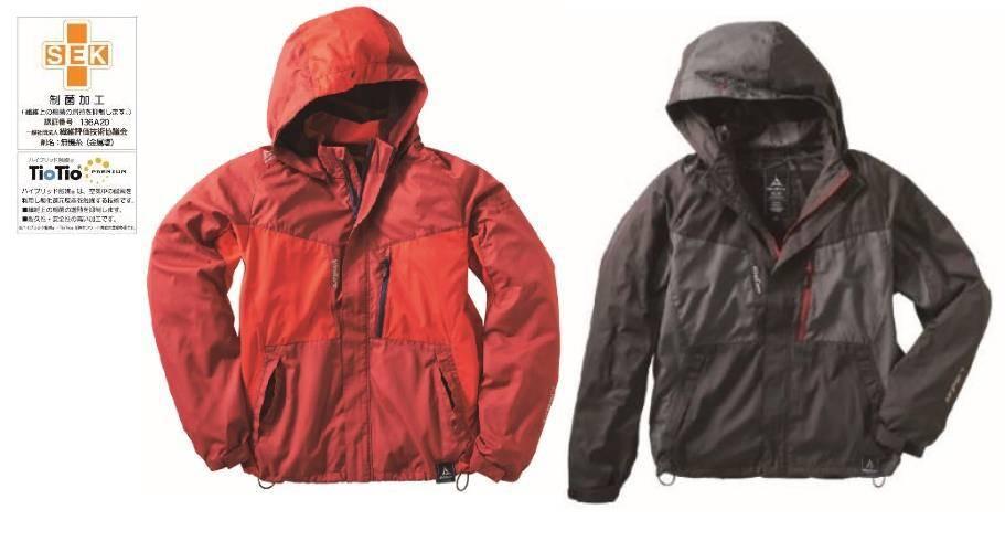 ベストと同様の機能性+手首まで風が衣服内をめぐる