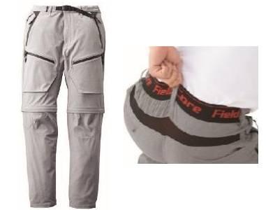 DIAMAGIC DIRECT®クライミングパンツとの組み合わせで腰部のエアーダクトメッシュから風をパンツ内にも取り込める
