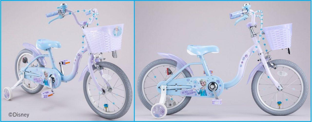 AEON BIKE(イオン バイク)限定!キッズサイクル『アナと雪の女王』