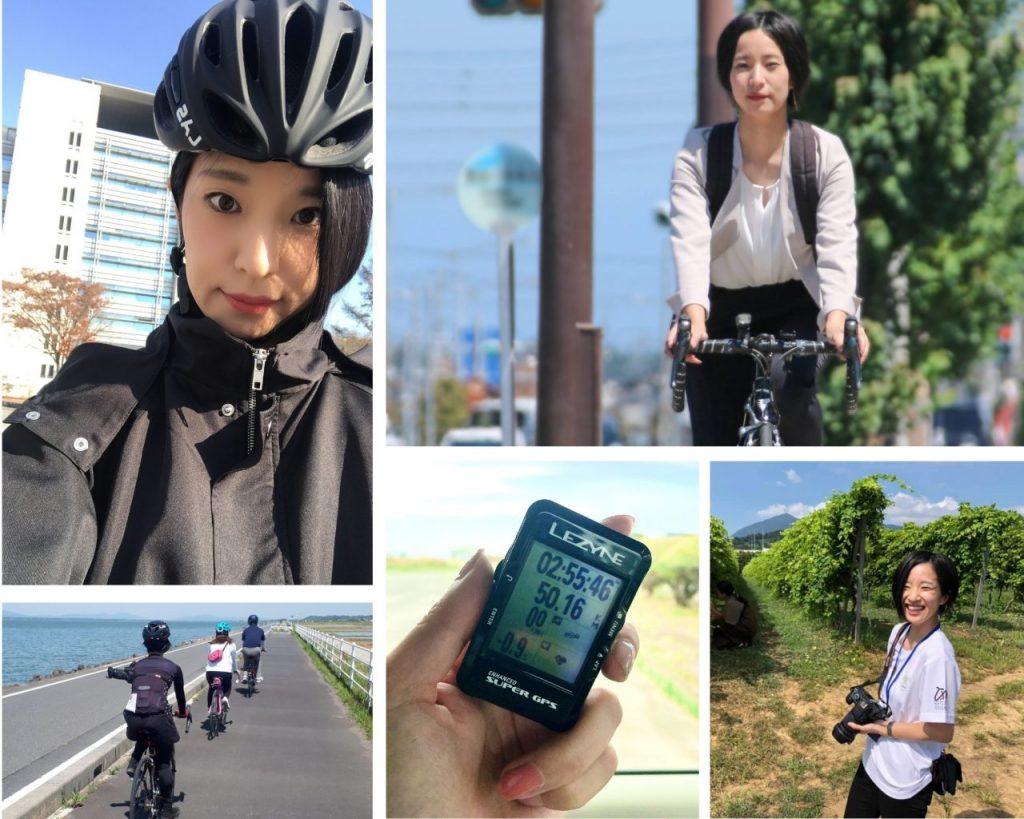 女性 ロードバイク 服装